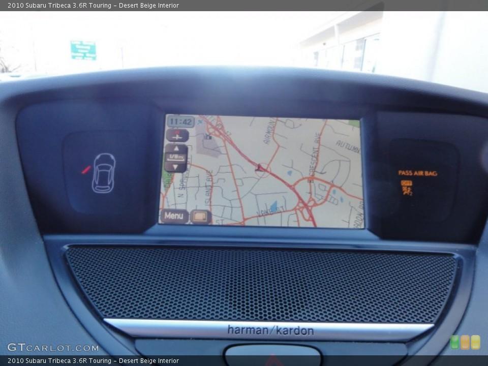 Desert Beige Interior Navigation for the 2010 Subaru Tribeca 3.6R Touring #60588010