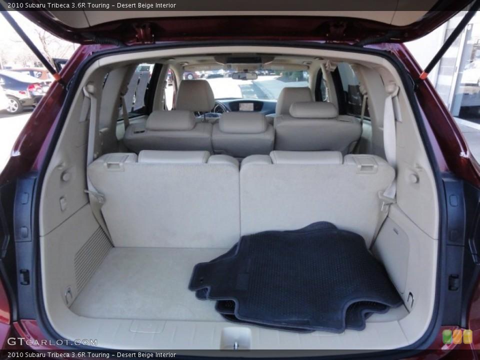 Desert Beige Interior Trunk for the 2010 Subaru Tribeca 3.6R Touring #60588082