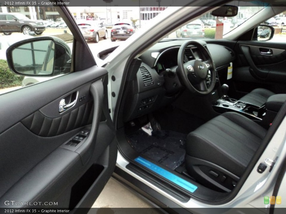 Graphite Interior Photo for the 2012 Infiniti FX 35 #60642946