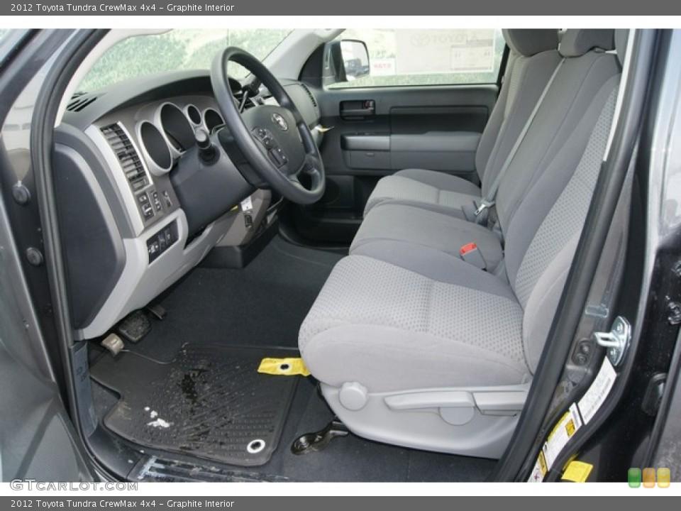 Graphite Interior Photo for the 2012 Toyota Tundra CrewMax 4x4 #60835046