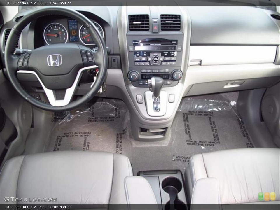 Gray Interior Dashboard for the 2010 Honda CR-V EX-L #60847245