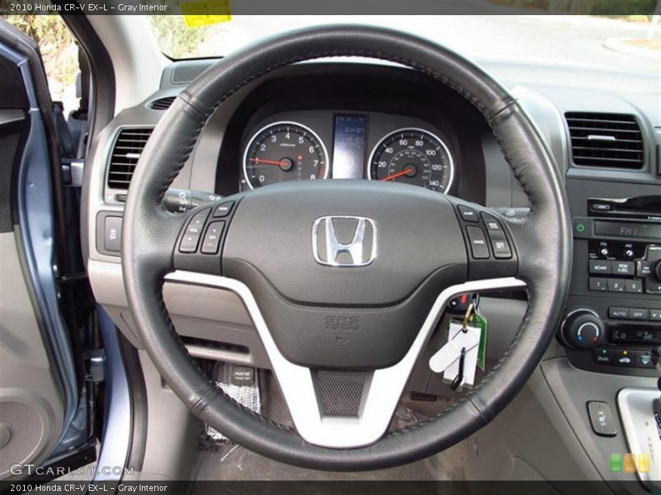 Gray Interior Steering Wheel for the 2010 Honda CR-V EX-L #60847306