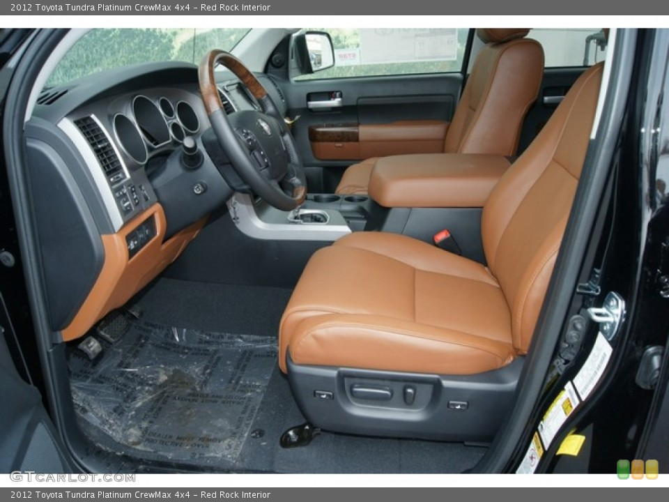 Red Rock Interior Photo for the 2012 Toyota Tundra Platinum CrewMax 4x4 #60862227