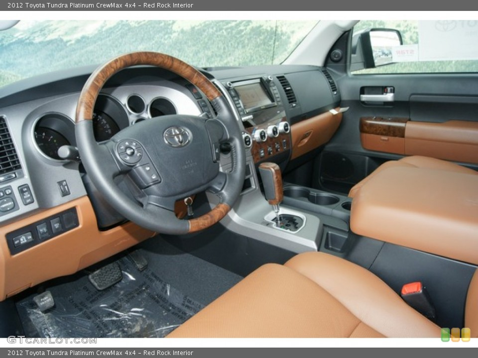 Red Rock Interior Photo for the 2012 Toyota Tundra Platinum CrewMax 4x4 #60862233