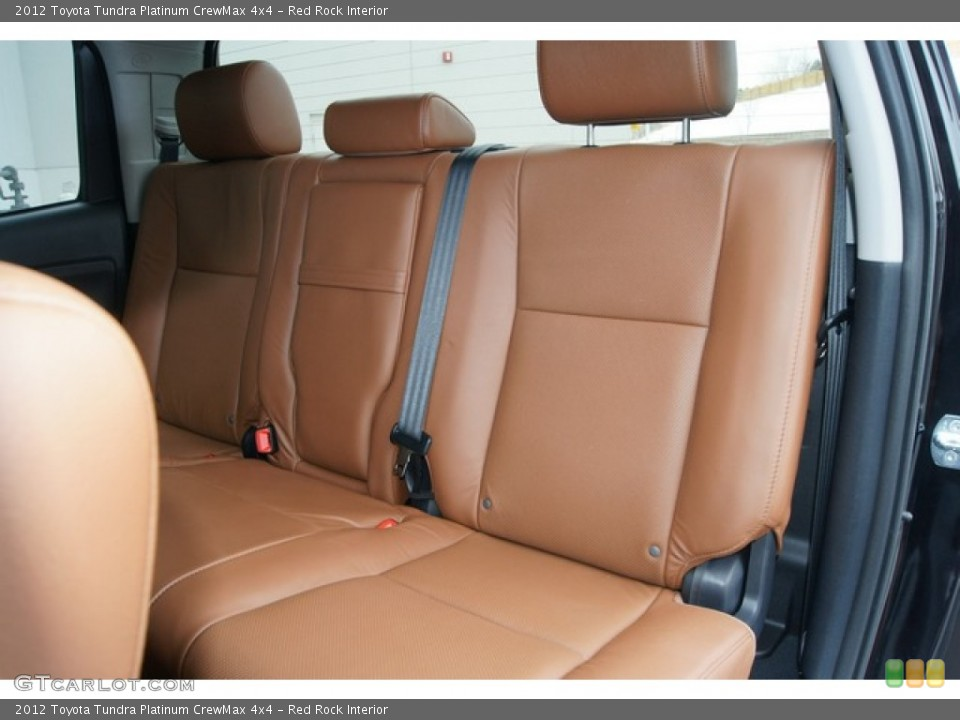Red Rock Interior Photo for the 2012 Toyota Tundra Platinum CrewMax 4x4 #60862288