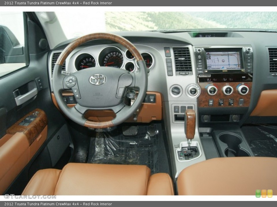 Red Rock Interior Dashboard for the 2012 Toyota Tundra Platinum CrewMax 4x4 #60862317
