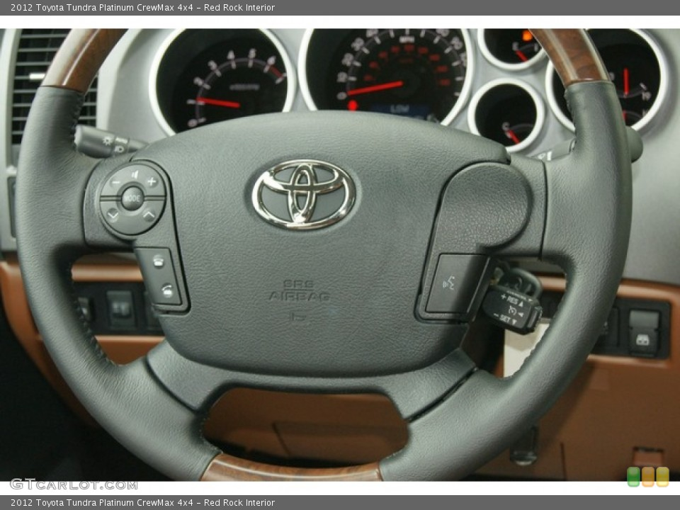 Red Rock Interior Steering Wheel for the 2012 Toyota Tundra Platinum CrewMax 4x4 #60862326
