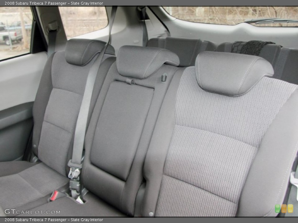 Slate Gray Interior Photo for the 2008 Subaru Tribeca 7 Passenger #60865788