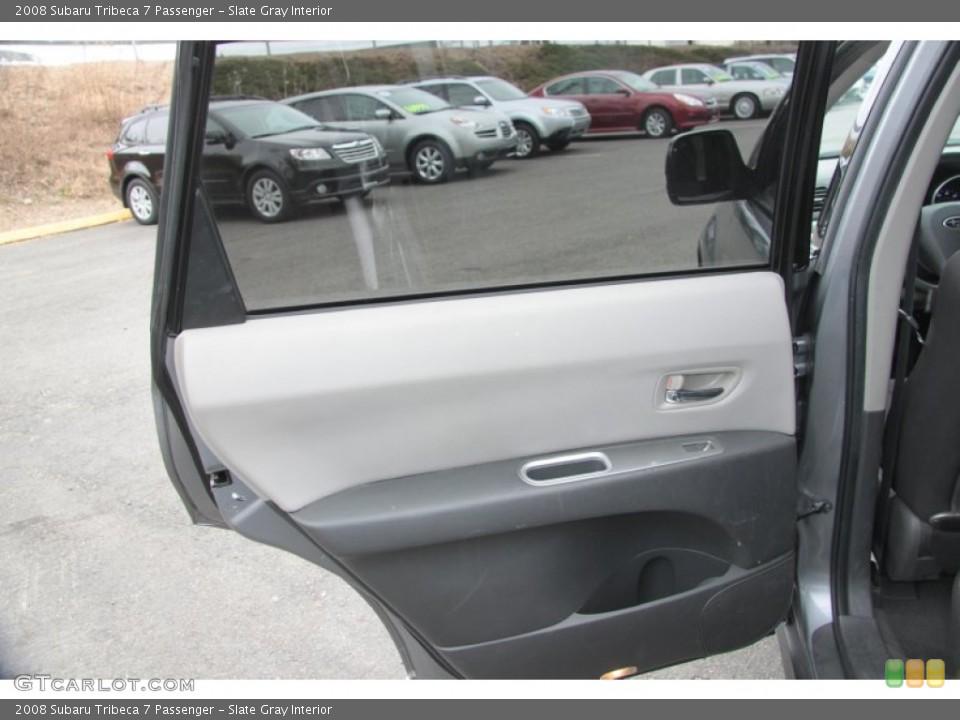 Slate Gray Interior Door Panel for the 2008 Subaru Tribeca 7 Passenger #60865818