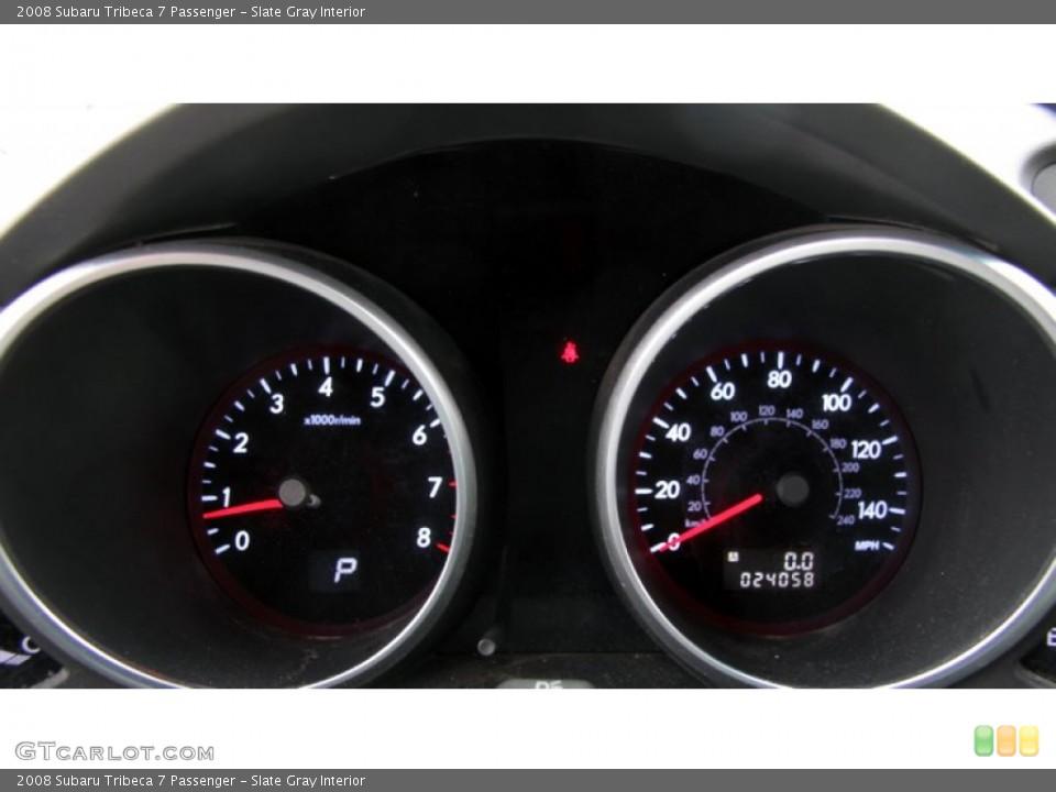 Slate Gray Interior Gauges for the 2008 Subaru Tribeca 7 Passenger #60865869