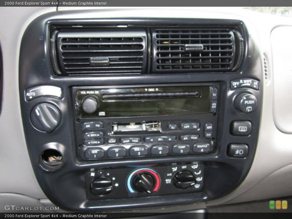 Medium Graphite Interior Audio System for the 2000 Ford Explorer Sport 4x4 #60986899