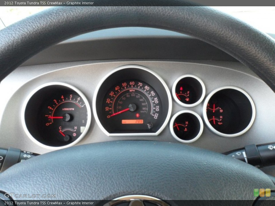 Graphite Interior Gauges for the 2012 Toyota Tundra TSS CrewMax #61017340