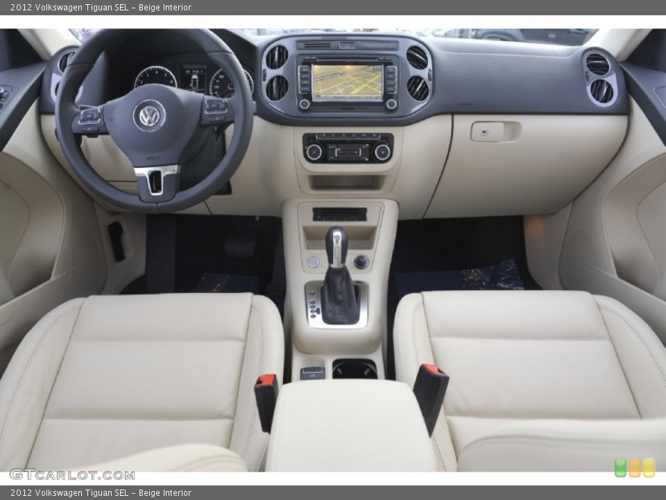 Beige Interior Photo for the 2012 Volkswagen Tiguan SEL #61081780 ...