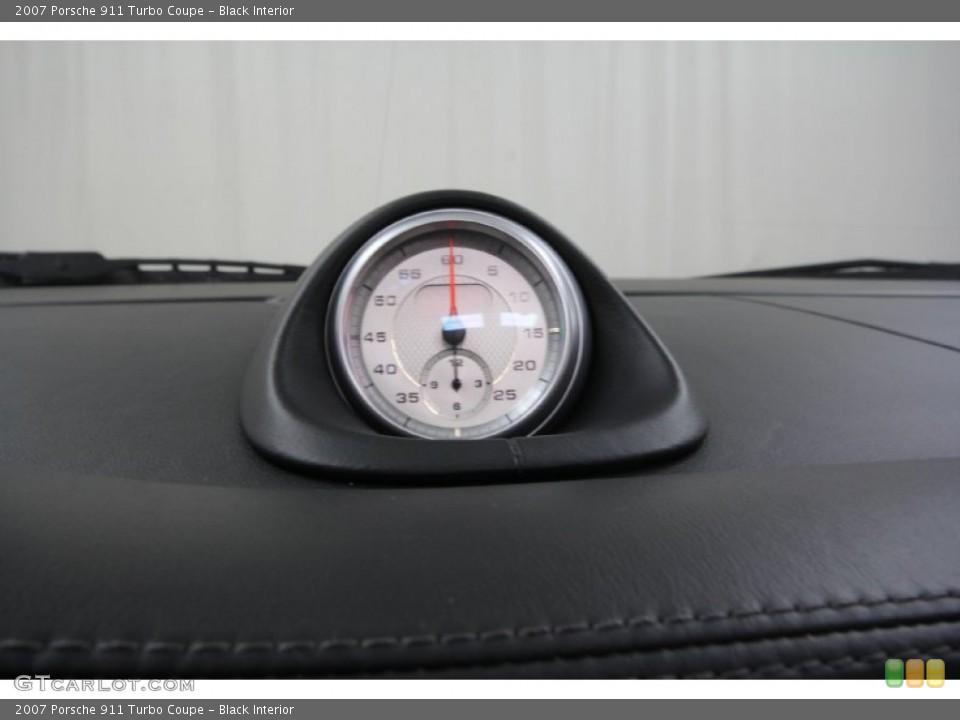 Black Interior Gauges for the 2007 Porsche 911 Turbo Coupe #61461898
