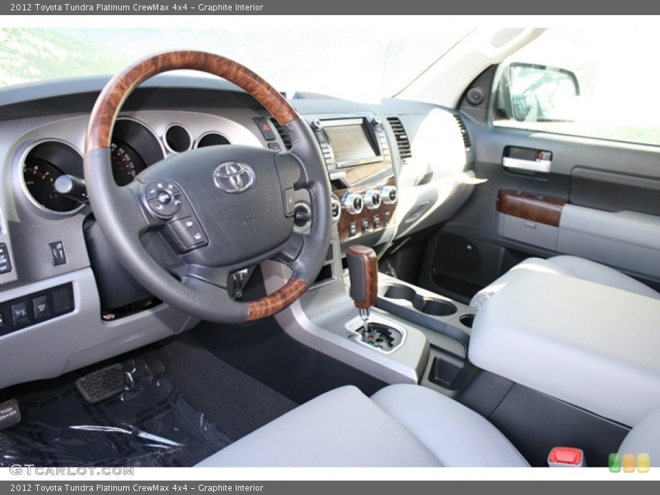 Graphite Interior Prime Interior for the 2012 Toyota Tundra Platinum CrewMax 4x4 #61523833
