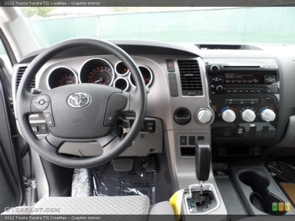 Graphite Interior Dashboard for the 2012 Toyota Tundra TSS CrewMax #61750943