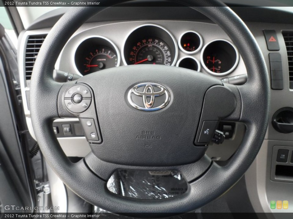 Graphite Interior Steering Wheel for the 2012 Toyota Tundra TSS CrewMax #61750985