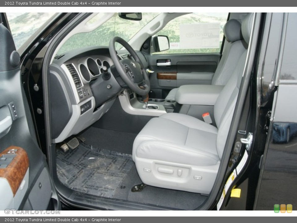 Graphite Interior Photo for the 2012 Toyota Tundra Limited Double Cab 4x4 #61802237