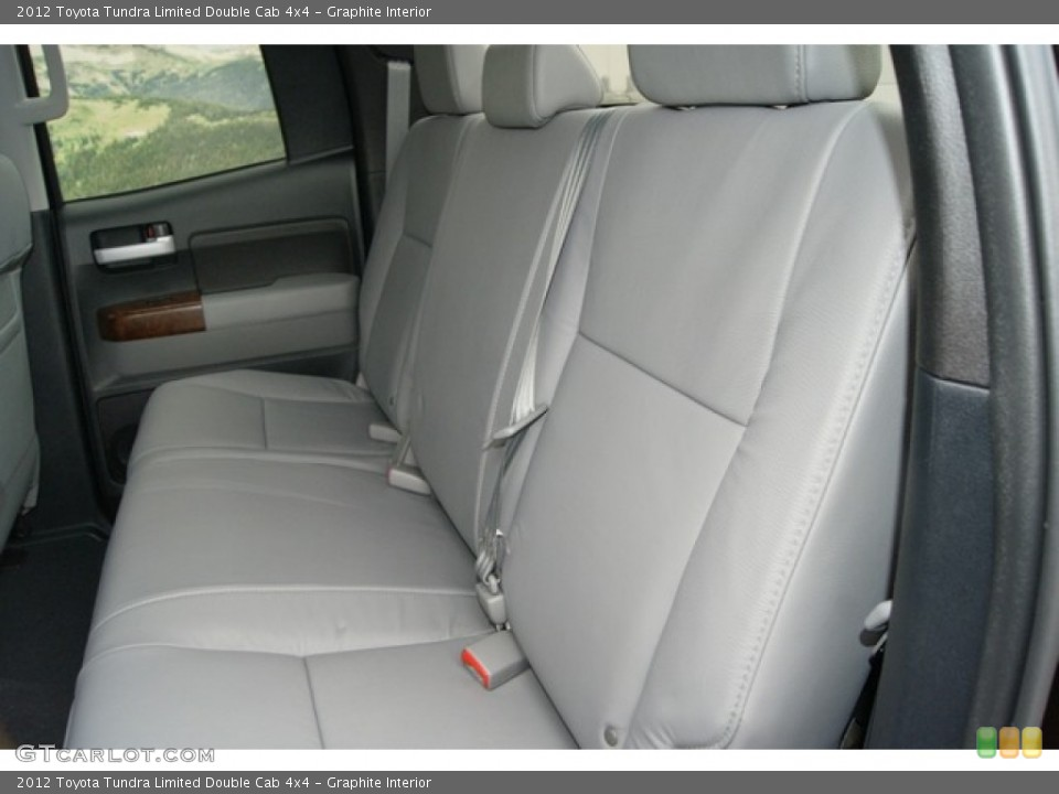 Graphite Interior Photo for the 2012 Toyota Tundra Limited Double Cab 4x4 #61802279