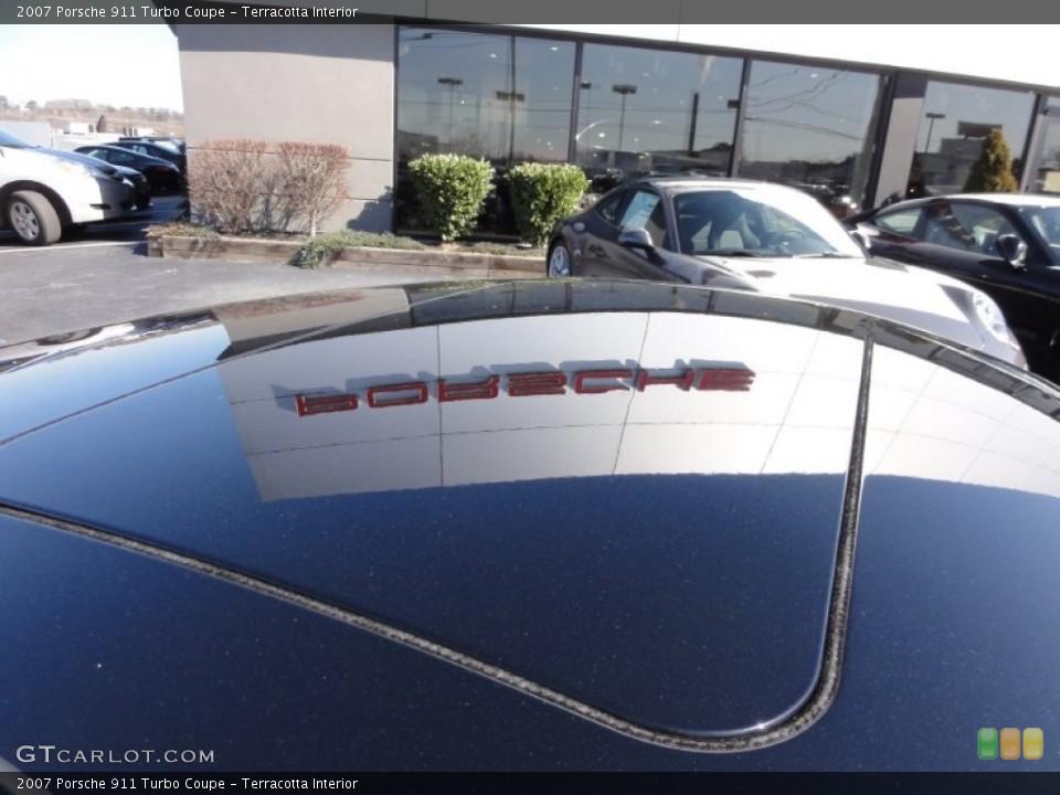 Terracotta Interior Sunroof for the 2007 Porsche 911 Turbo Coupe #61953797