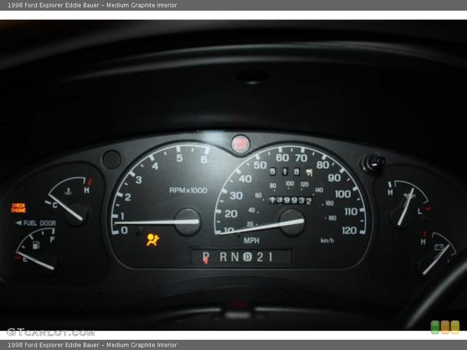 Medium Graphite Interior Gauges for the 1998 Ford Explorer Eddie Bauer #61960253