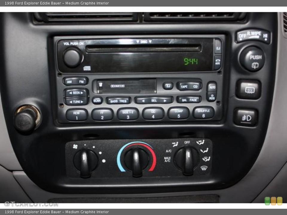 Medium Graphite Interior Audio System for the 1998 Ford Explorer Eddie Bauer #61960343