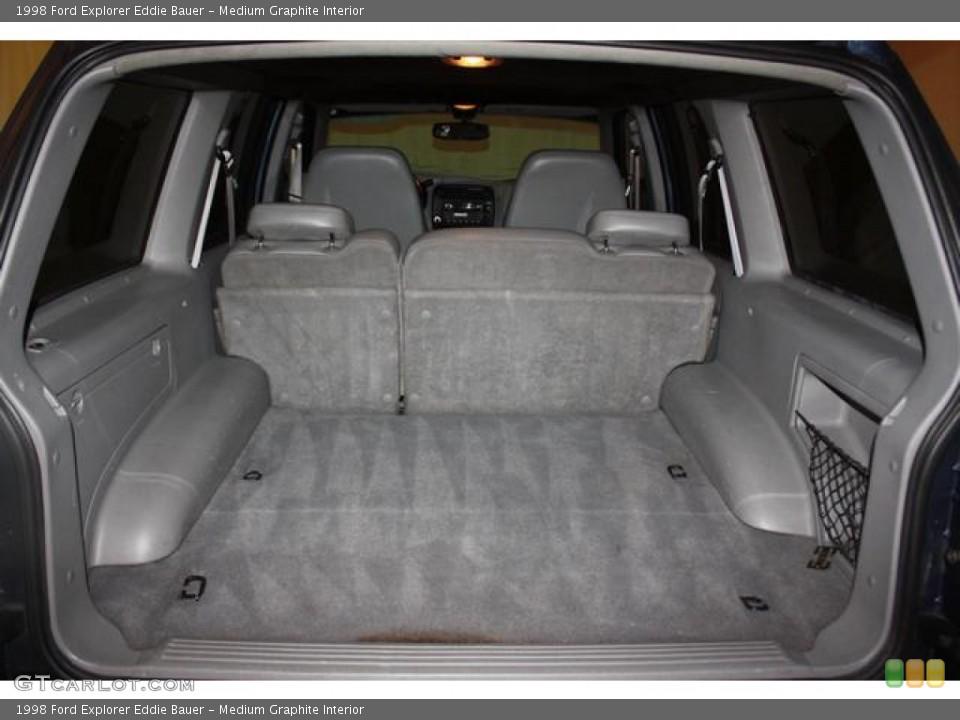 Medium Graphite Interior Trunk for the 1998 Ford Explorer Eddie Bauer #61960388