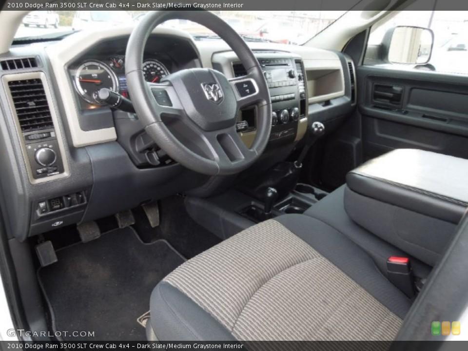 Dark Slate/Medium Graystone 2010 Dodge Ram 3500 Interiors