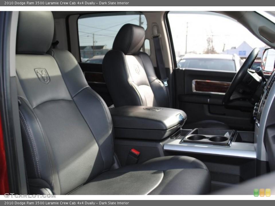 Dark Slate Interior Photo for the 2010 Dodge Ram 3500 Laramie Crew Cab 4x4 Dually #62144466