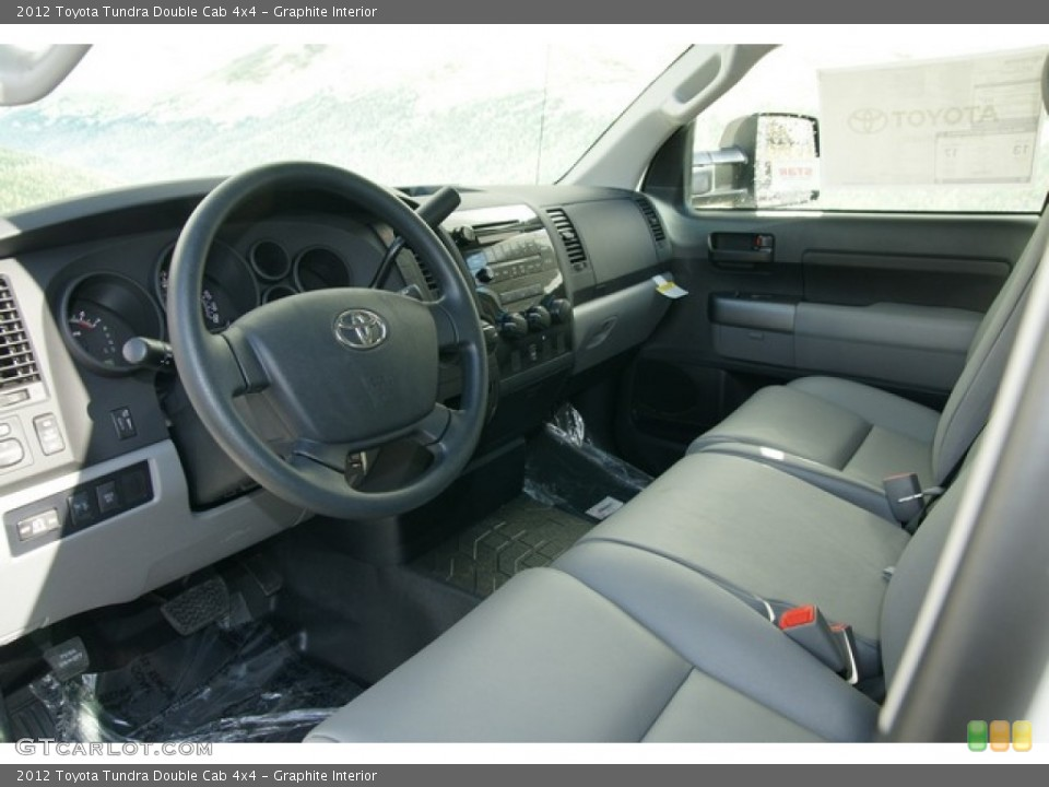 Graphite Interior Photo for the 2012 Toyota Tundra Double Cab 4x4 #62146652