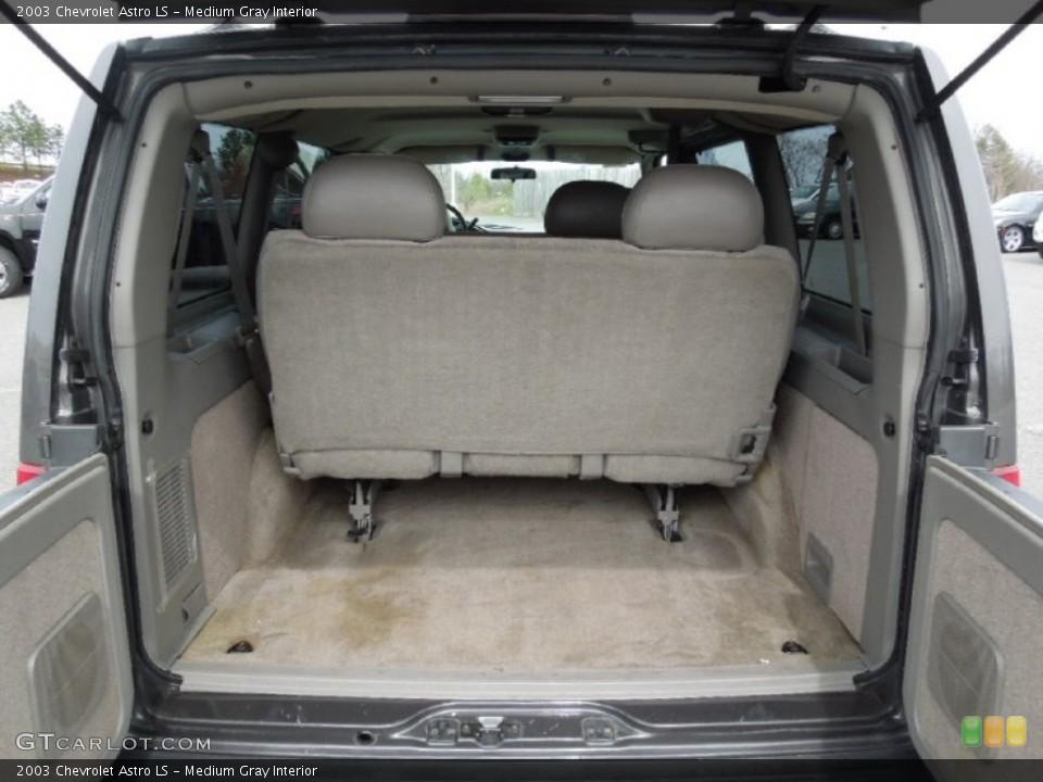 Medium Gray Interior Trunk for the 2003 Chevrolet Astro LS #62188237
