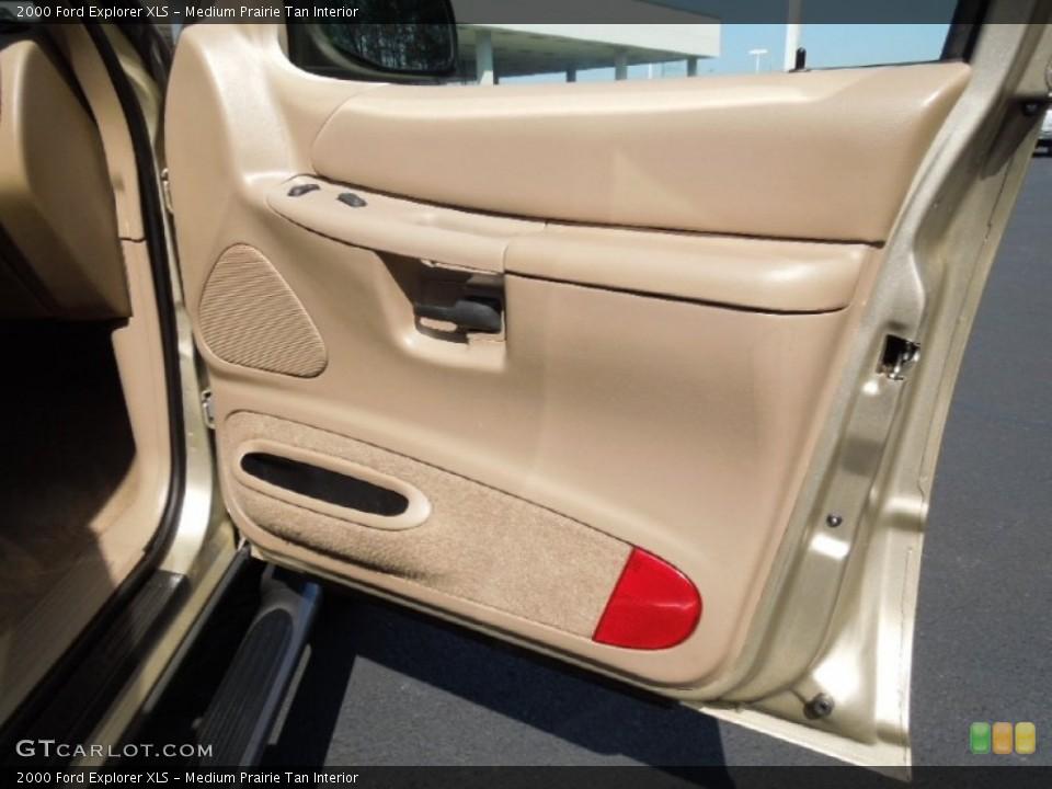 Medium Prairie Tan Interior Door Panel for the 2000 Ford Explorer XLS #62316085