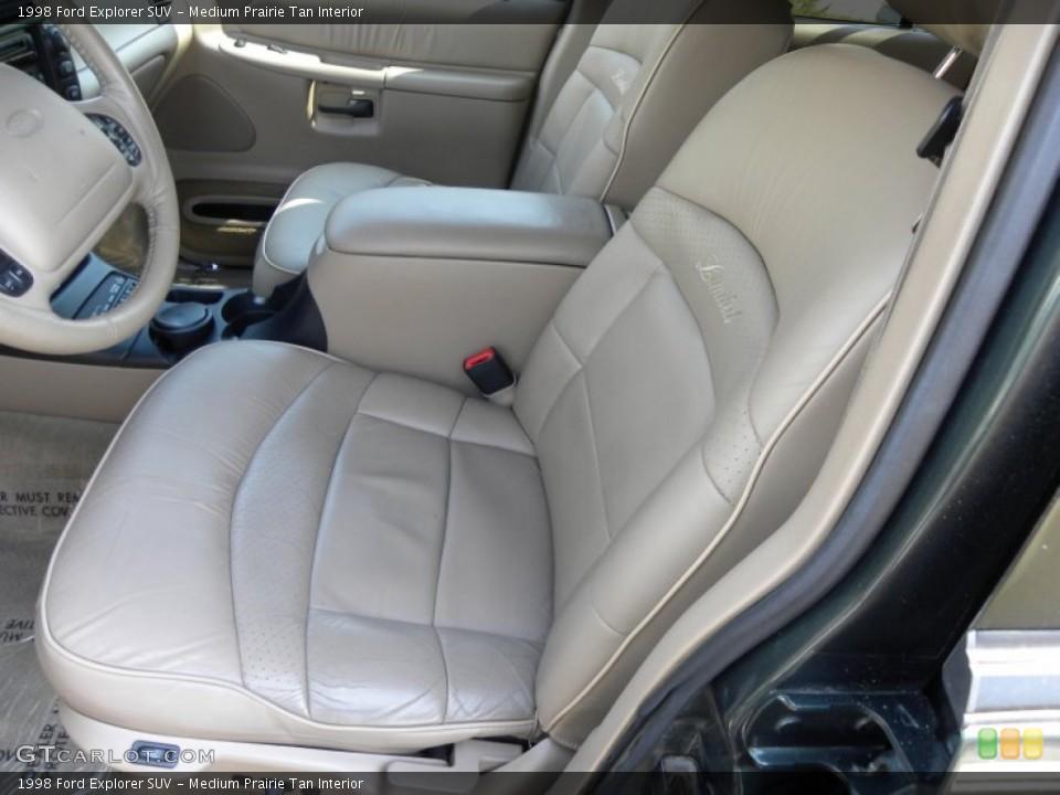 Medium Prairie Tan Interior Photo for the 1998 Ford Explorer SUV #62346629