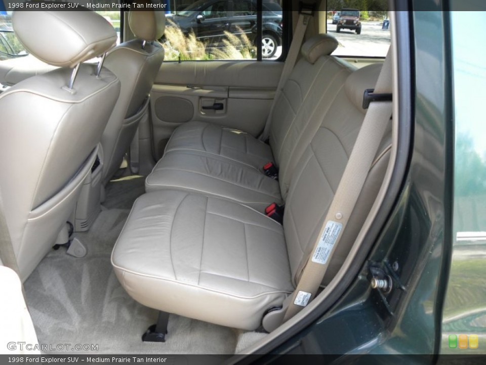 Medium Prairie Tan Interior Rear Seat for the 1998 Ford Explorer SUV #62346647