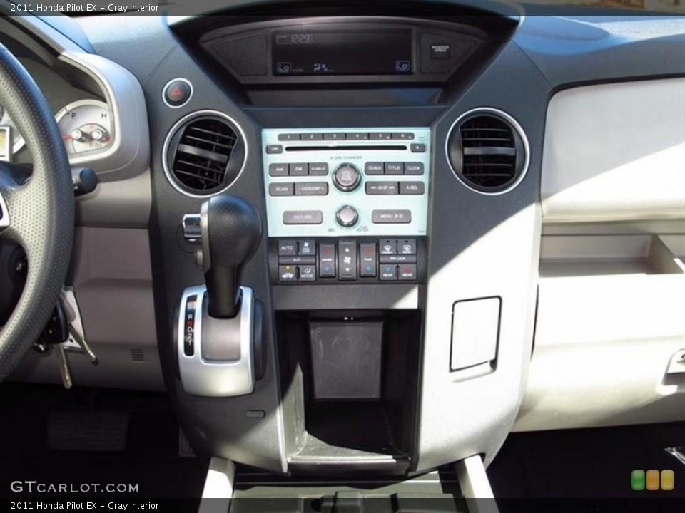 Gray Interior Controls for the 2011 Honda Pilot EX #62567365