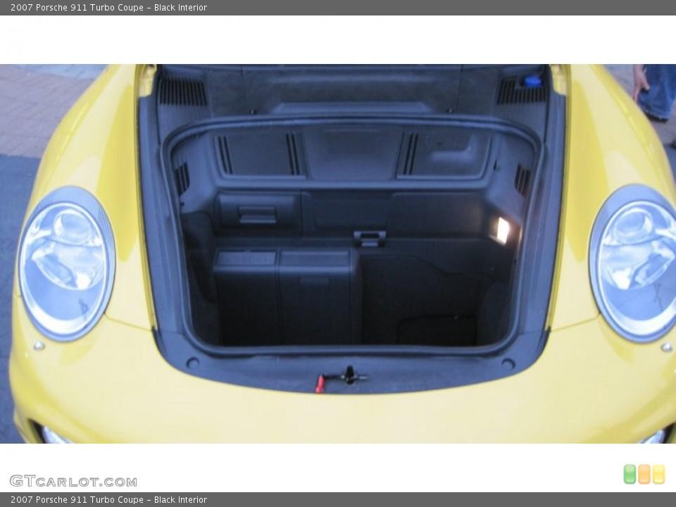 Black Interior Trunk for the 2007 Porsche 911 Turbo Coupe #62715829