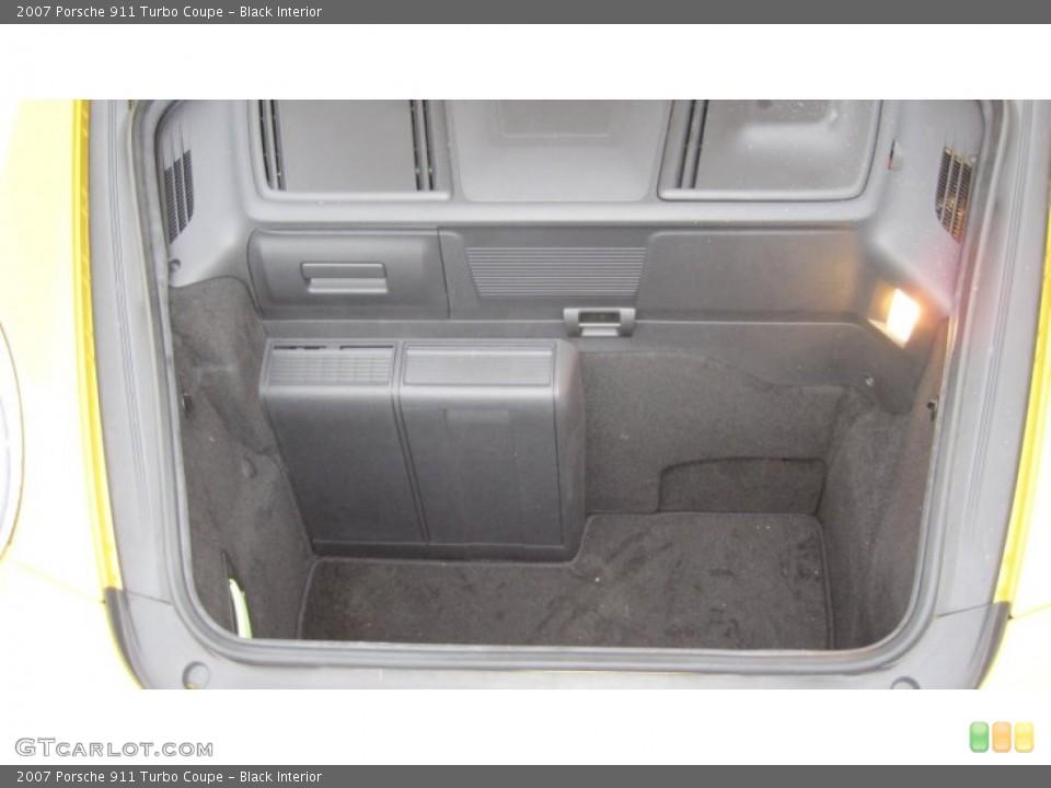 Black Interior Trunk for the 2007 Porsche 911 Turbo Coupe #62715835