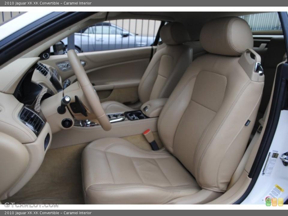 Caramel Interior Photo for the 2010 Jaguar XK XK Convertible #62790370