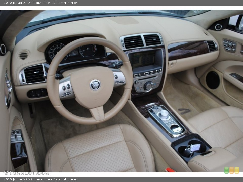 Caramel Interior Prime Interior for the 2010 Jaguar XK XK Convertible #62790423