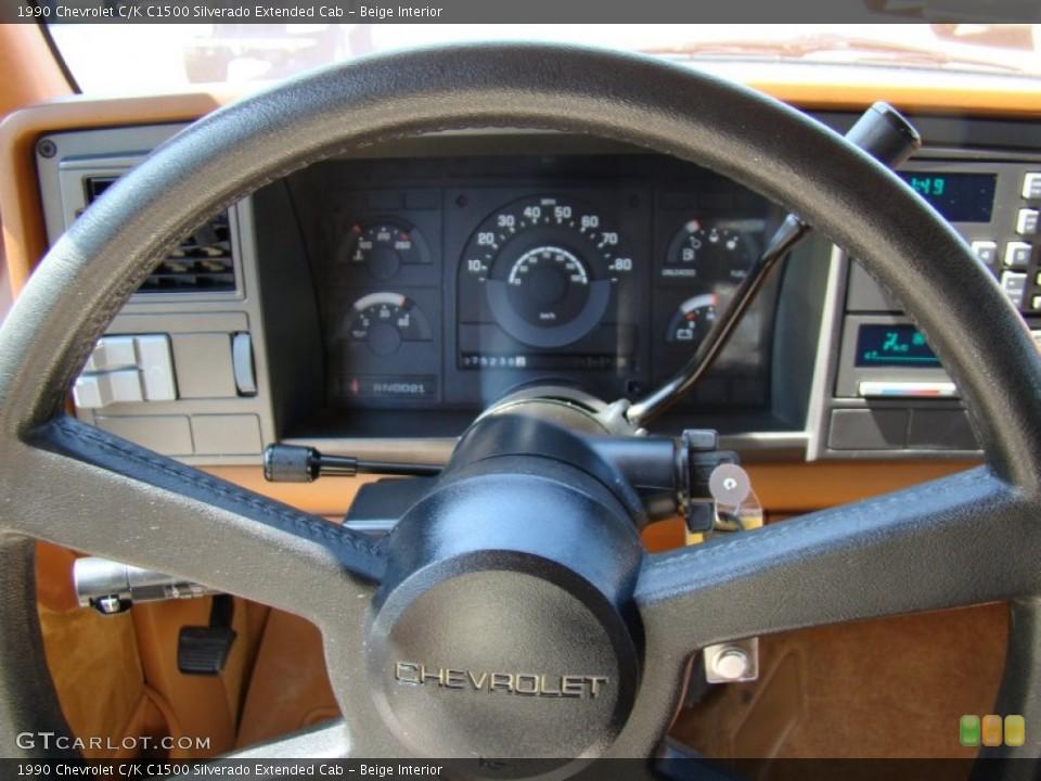 Beige Interior    Steering    Wheel for the    1990       Chevrolet    CK