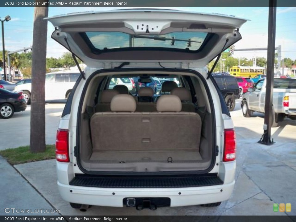 Medium Parchment Beige Interior Trunk for the 2003 Ford Explorer Limited AWD #63048891