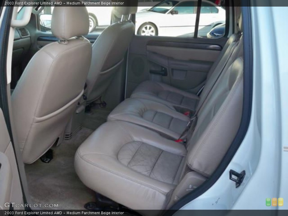 Medium Parchment Beige Interior Photo for the 2003 Ford Explorer Limited AWD #63048907