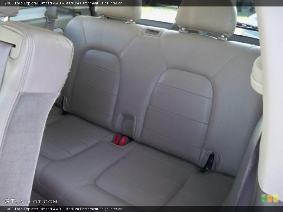 Medium Parchment Beige Interior Photo for the 2003 Ford Explorer Limited AWD #63048916