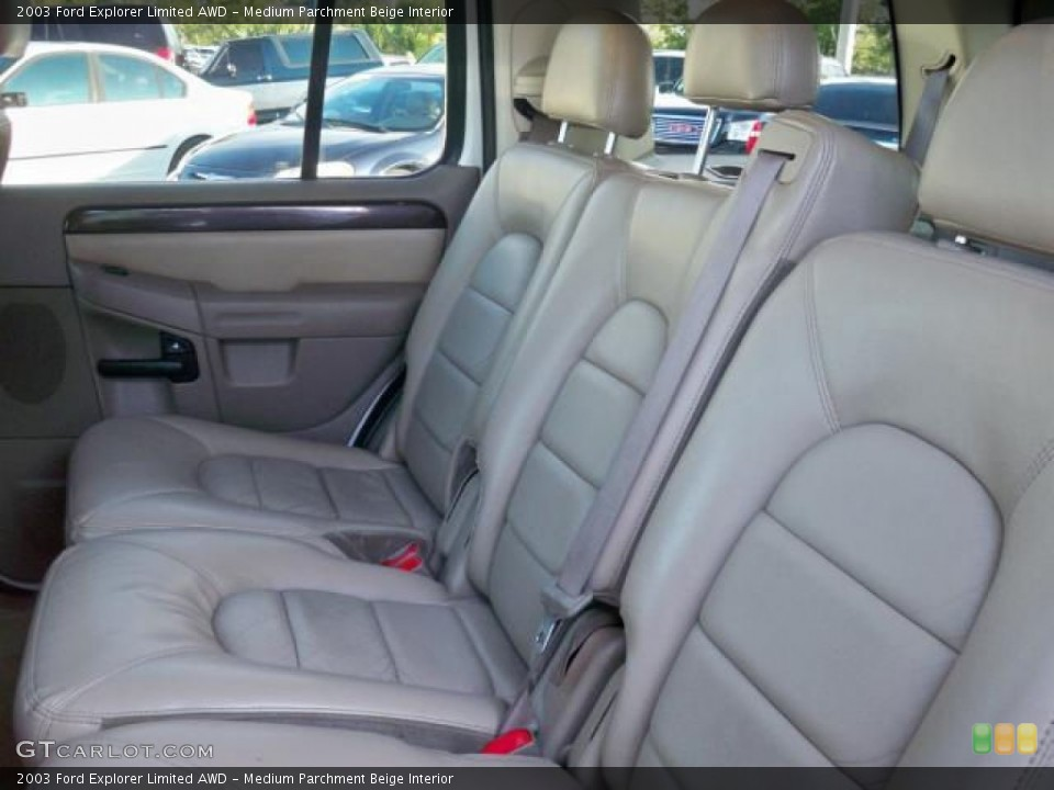 Medium Parchment Beige Interior Photo for the 2003 Ford Explorer Limited AWD #63048925