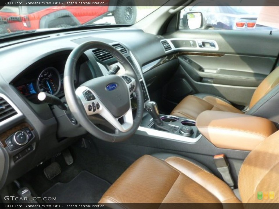 Pecan/Charcoal Interior Photo for the 2011 Ford Explorer Limited 4WD #63189217