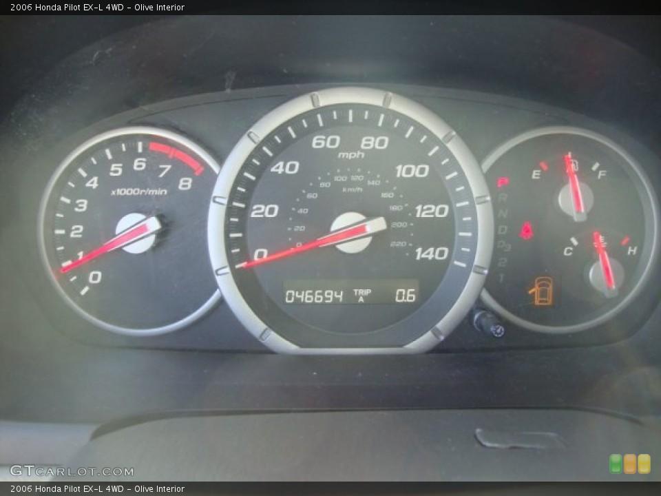 Olive Interior Gauges for the 2006 Honda Pilot EX-L 4WD #63214243