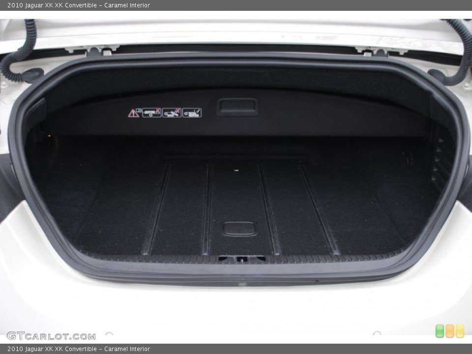 Caramel Interior Trunk for the 2010 Jaguar XK XK Convertible #63219321