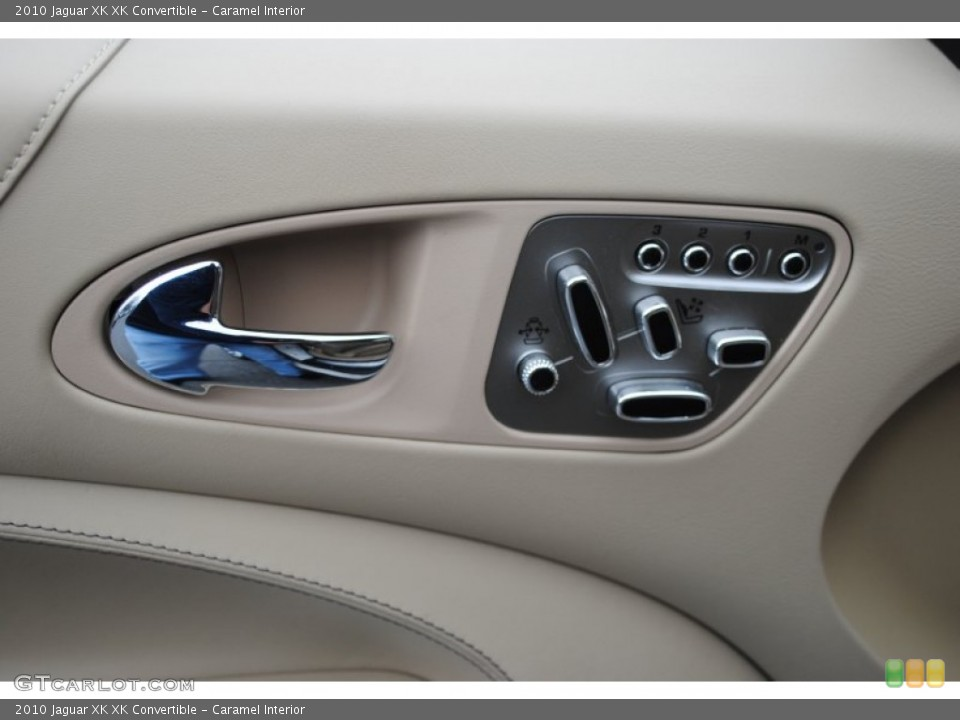 Caramel Interior Controls for the 2010 Jaguar XK XK Convertible #63219333