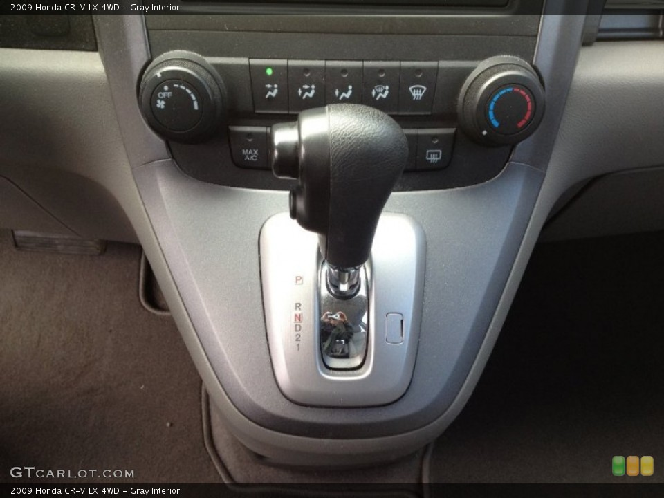 Gray Interior Transmission for the 2009 Honda CR-V LX 4WD #63220377