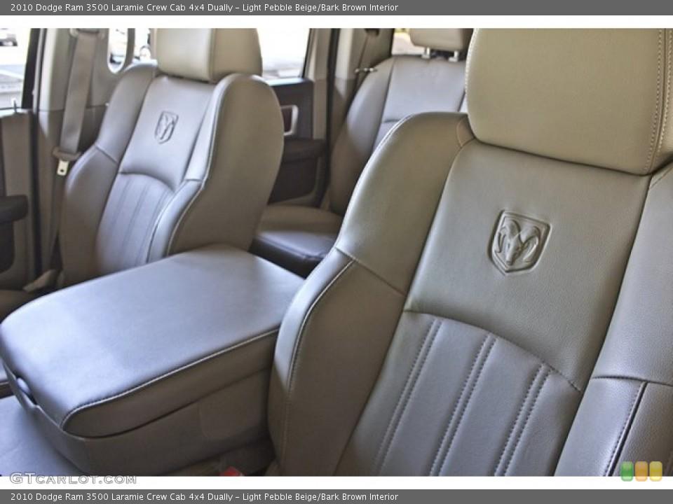 Light Pebble Beige/Bark Brown Interior Photo for the 2010 Dodge Ram 3500 Laramie Crew Cab 4x4 Dually #63257755